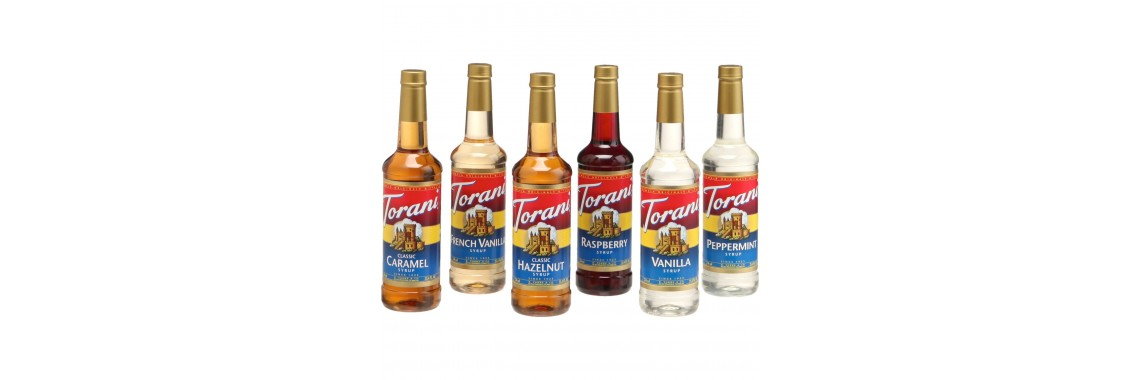 Featured Torani Syrups